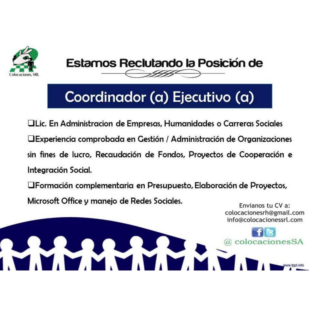 Coordinador/a Ejecutivo/a para la Fundación La Merced ...