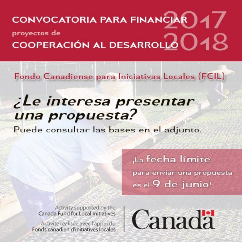 Fondo Canadiense para Iniciativas Locales (FCIL) - Convocatoria de ...