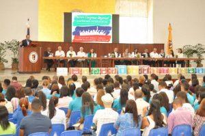 Jóvenes del Cibao realizan congreso para promover una Cultura de Paz