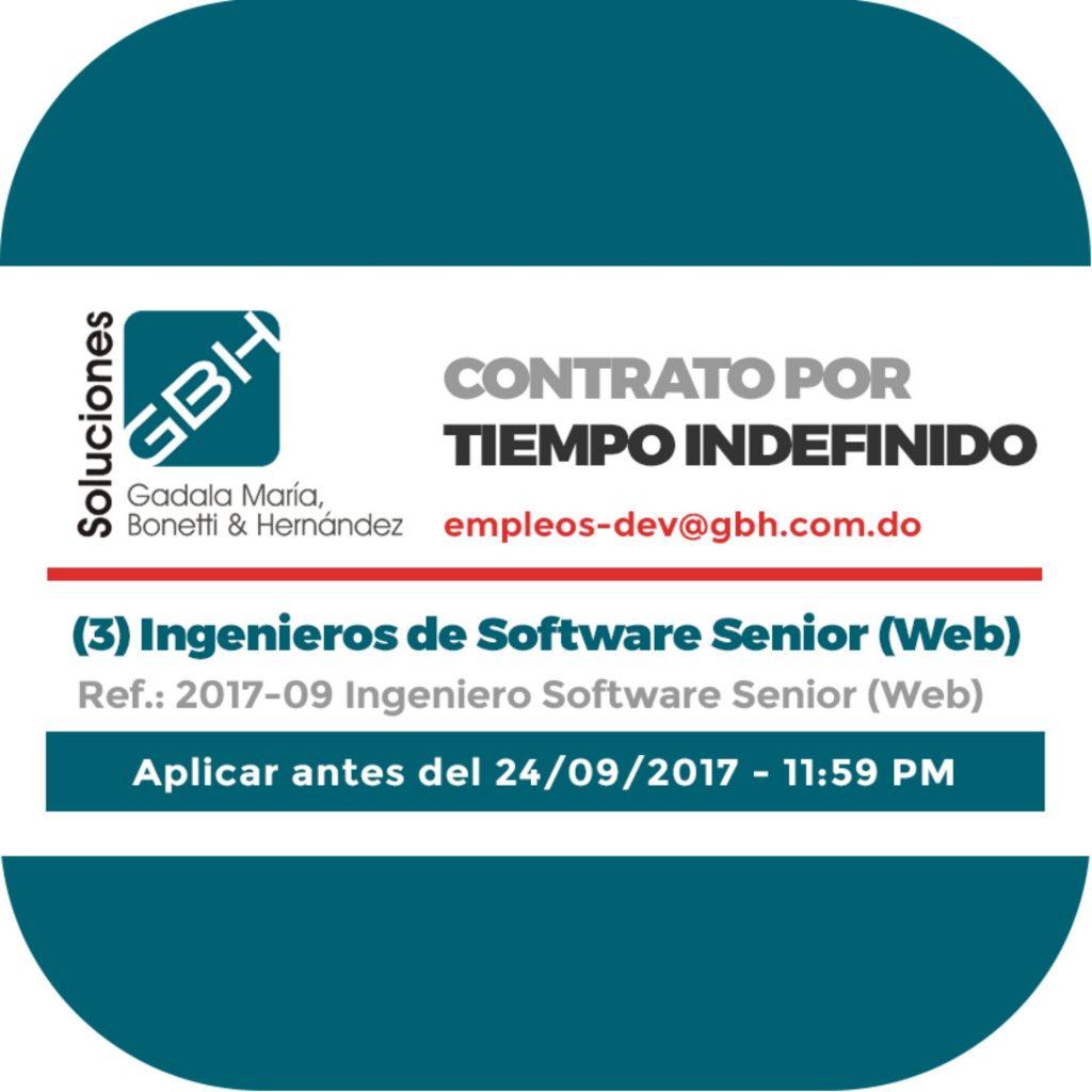 Tres (3) Ingenieros de Software Senior (Web) - Soluciones GBH ...