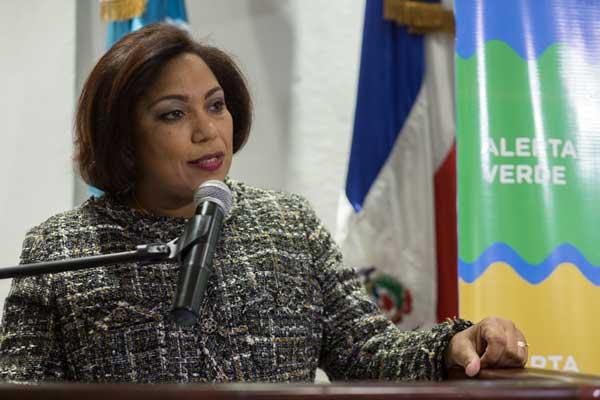 Luz Patria Bonilla, Responsable del Fondo Nacional de Prevención, Mitigación y Respuesta ante desastres.