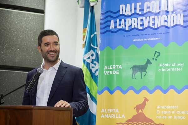 Borja Serrador,  responsable de proyectos de la Agencia Española de Cooperación Internacional para el Desarrollo - AECID.