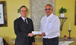 Donan RD$15 millones para el Parque Central de Santiago