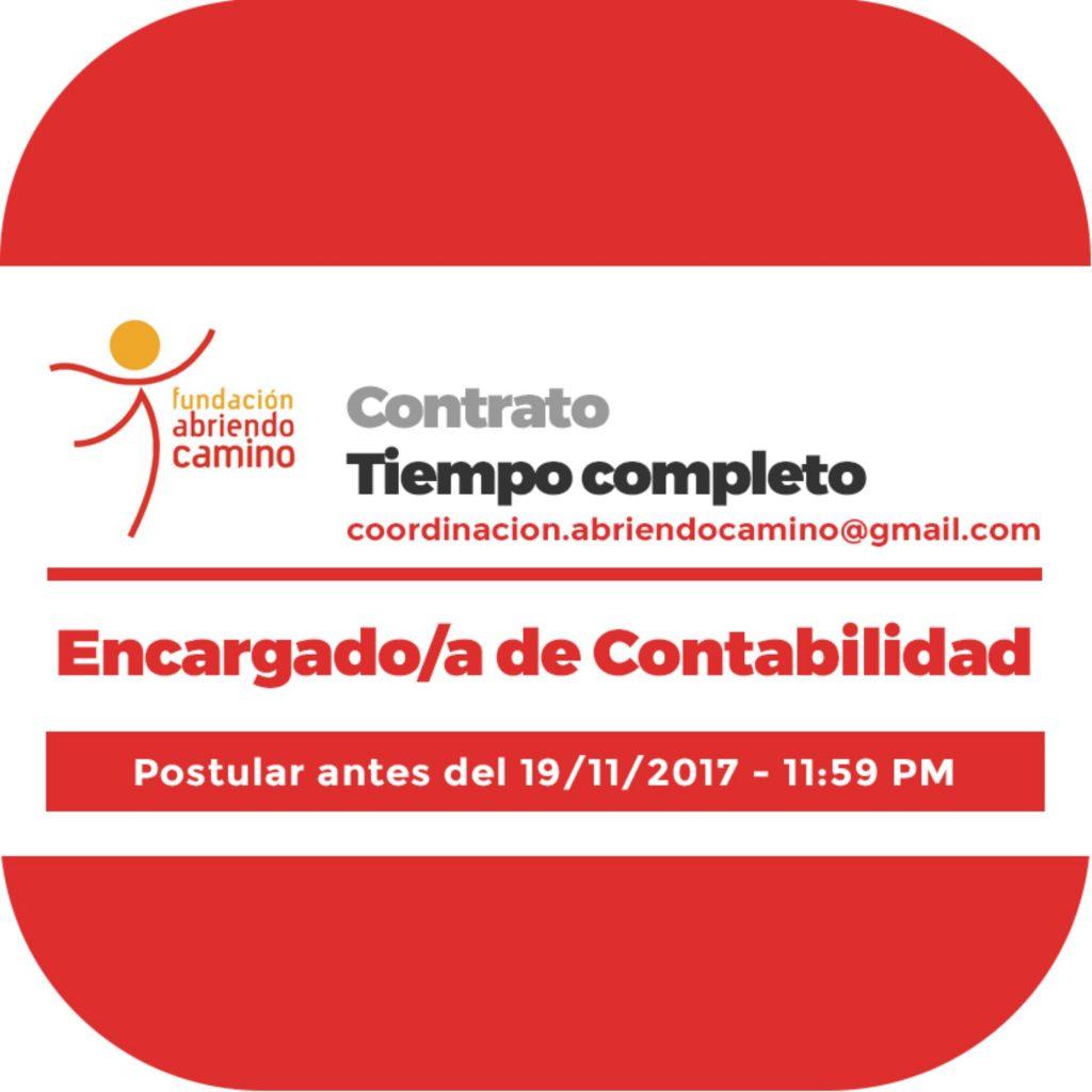 Encargado/a de Contabilidad - Fundación Abriendo Camino ...