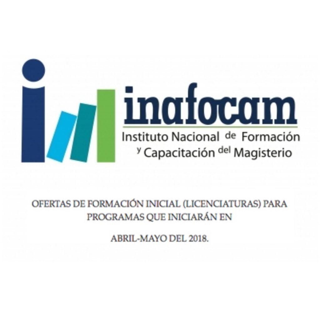 BECAS INAFOCAM para Formación Inicial (Licenciaturas): inicio Abril ...