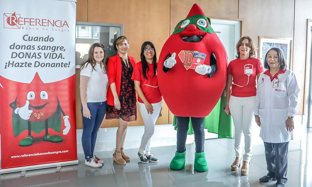 Referencia Banco de Sangre abre centro de donación