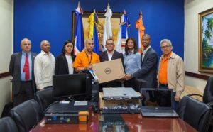 ONESVIE recibe una serie de equipos tecnológicos para Nodo de Información