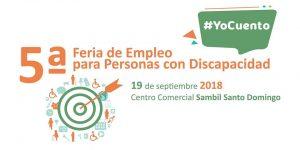 5ª Feria de Empleo para Personas con Discapacidad se realizará en Sambil