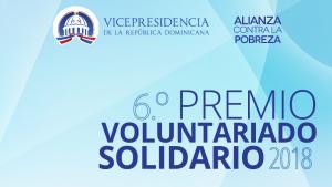 Vicepresidencia convoca a participar en Premio Voluntariado Solidario 2018