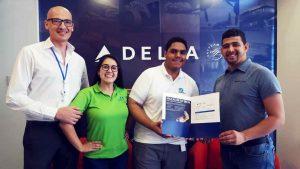 Donante de sangre viajará por primera vez a Estados Unidos gracias a Delta Air Lines
