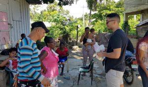 Realizan levantamiento para el proyecto «Ciudadanía activa dialogando para una gestión municipal inclusiva, participativa y transparente»