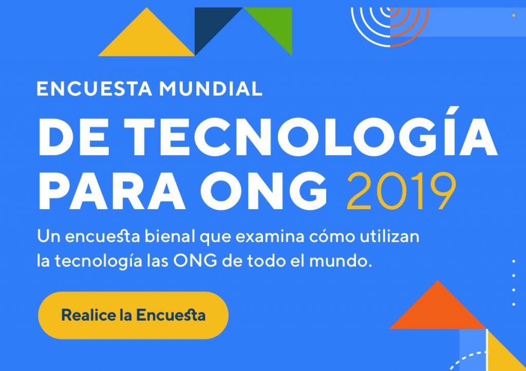 Lanzan edición 2019 de Encuesta Mundial de Tecnología para ONGs