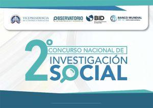 Observatorio de Políticas Sociales y Desarrollo lanza 2do Concurso Nacional de Investigación Social