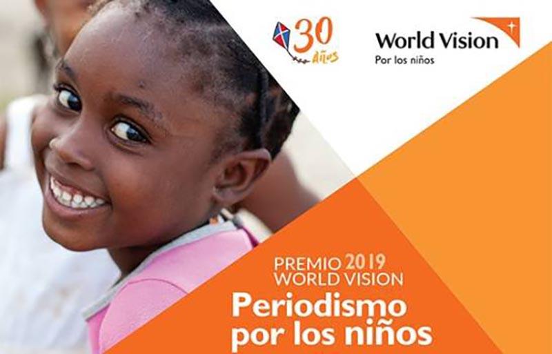 """Convocan al Premio World Vision: """"Periodismo por los niños"""""""