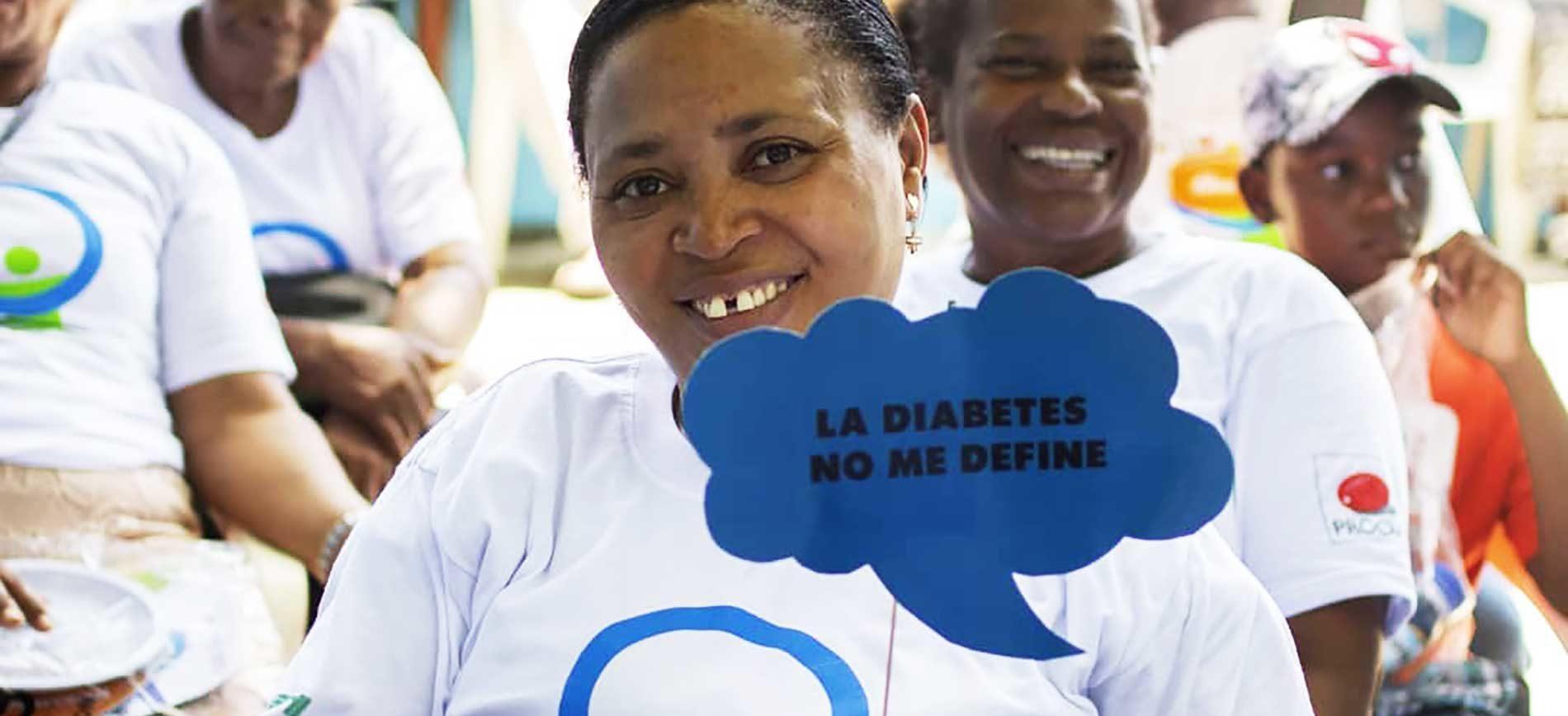 en programas comunitarios para la diabetes